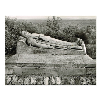 Verdun, Tomb of the unknown warrior Postcard
