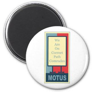 vereteno's: CORRECT PATH COMRADES Magnet