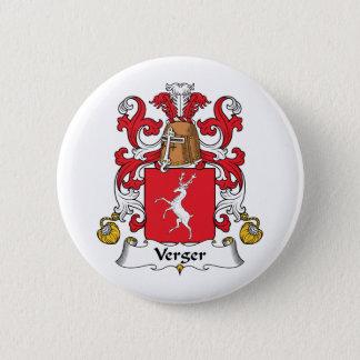 Verger Family Crest 2 Inch Round Button