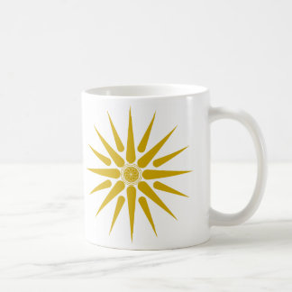 VERGINA SUN COFFEE MUG