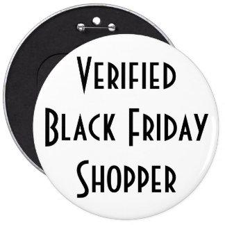 Verified Black Friday Shopper, button