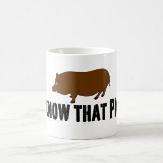 Véritable ~ de sang je connais ce porc mug