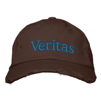 Veritas Embroidered Hat