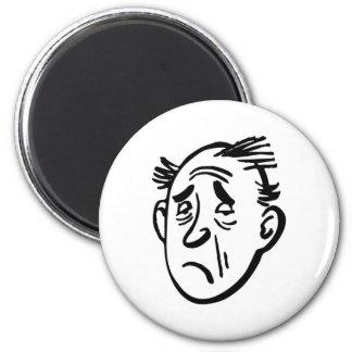 verkatert more hangover 2 inch round magnet