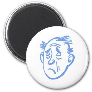 verkatert more hangover refrigerator magnet