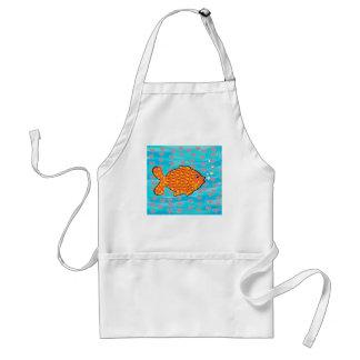 Verliebte Fische Schürze