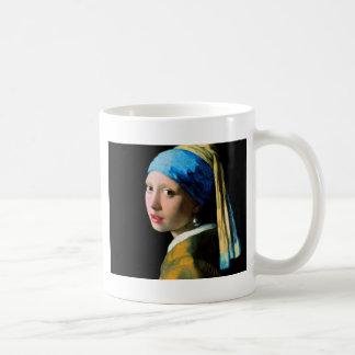 Vermeer - Girl with a Pearl Earring Coffee Mug