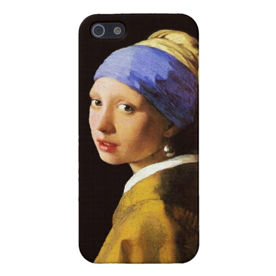 Vermeer Girl with a Pearl Earring Cover For iPhone 5/5S
