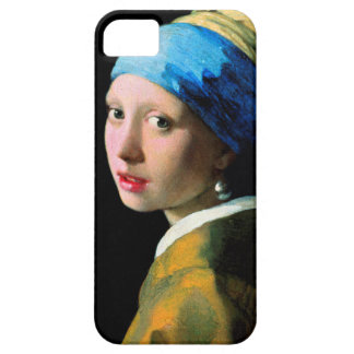 Vermeer - Girl with a Pearl Earring iPhone 5 Cases
