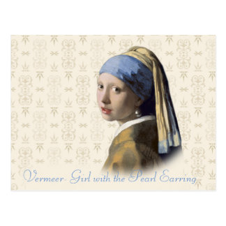 Vermeer- Girl with the Pearl Earring Postcard