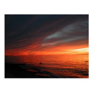 Vermilion Sunset 062907 Postcard