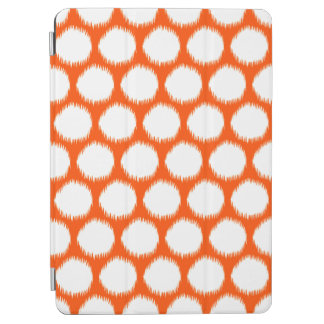 Vermillion Asian Moods Ikat Dots iPad Air Cover
