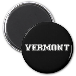 Vermont 2 Inch Round Magnet