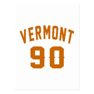 Vermont 90 Birthday Designs Postcard