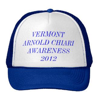 VERMONT ARNOLD CHIARI AWARENESS 2012 TRUCKER HAT