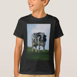 Vermont  Black and White Dairy Cow T-Shirt