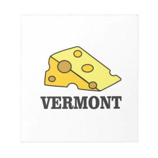 Vermont Cheddar Notepad