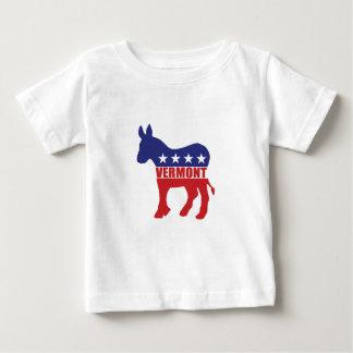 Vermont Democrat Donkey Baby T-Shirt