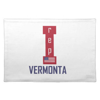 Vermont design placemat