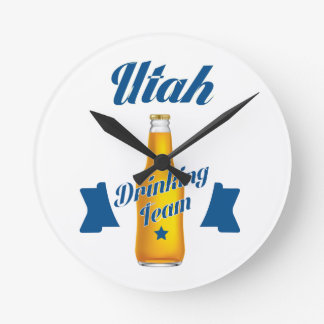 Vermont Drinking team Clock