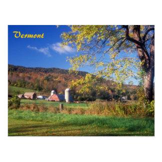 Vermont Farm Postcard