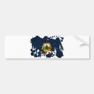 Vermont Flag Bumper Sticker