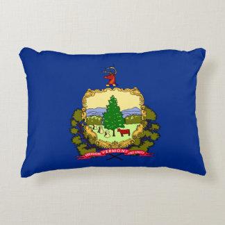 Vermont Flag Decorative Pillow