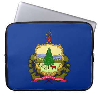 Vermont Flag Laptop Sleeve