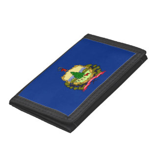 Vermont Flag Trifold Wallet