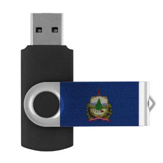 Vermont Flag USB Flash Drive