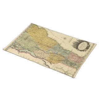 Vermont, From actual Survey - Vintage 1814 Map Place Mat