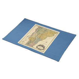 Vermont, From actual Survey - Vintage 1814 Map Place Mats