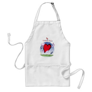 Vermont head heart, tony fernandes standard apron