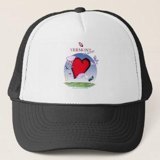 Vermont head heart, tony fernandes trucker hat