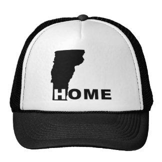 Vermont Home Away From State Ball Cap Hat