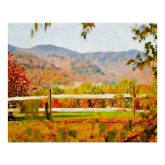 Vermont in the Fall Posters