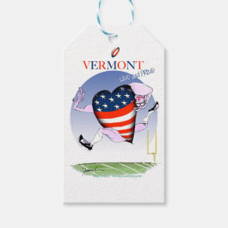 Vermont loud and proud, tony fernandes pack of gift tags