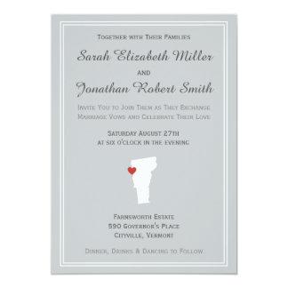 Vermont Love - Customizable Wedding Invitation