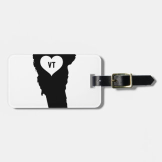 Vermont Love Luggage Tag