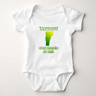 Vermont Memories Baby Bodysuit
