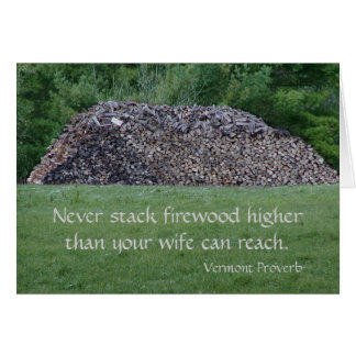 Vermont Proverb Card