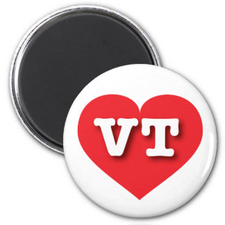 Vermont Red Heart - Big Love Magnet