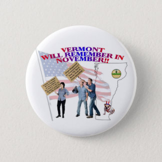 Vermont - Return Congress to the People! 2 Inch Round Button