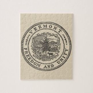 Vermont Seal Jigsaw Puzzle