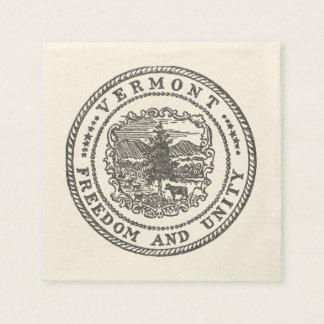 Vermont Seal Paper Napkin