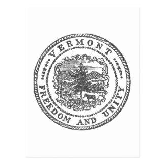 Vermont Seal Postcard