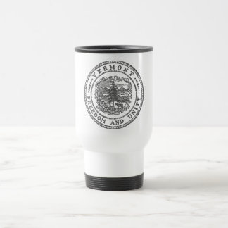Vermont Seal Travel Mug