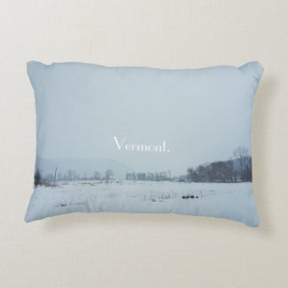 Vermont Snow Pillow
