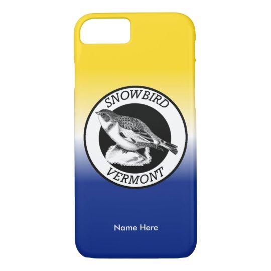 Vermont Snowbird Shield iPhone 8/7 Case