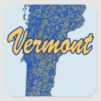 Vermont Square Sticker